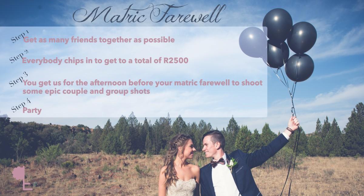 Matric farewell